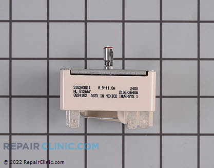 Tappan Surface Burner Element Switch
