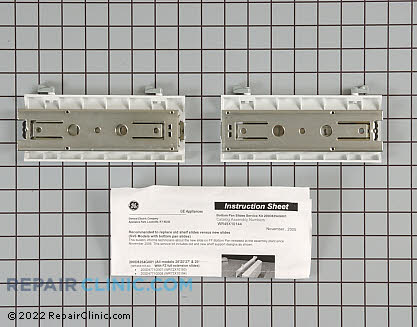 Drawer Slide Rail (OEM)  WR49X10144, 1194710