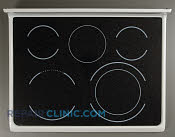 Glass Cooktop - Part # 1197236 Mfg Part # 316456274