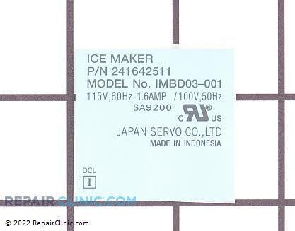 Nameplate 5304456657      Main Product View