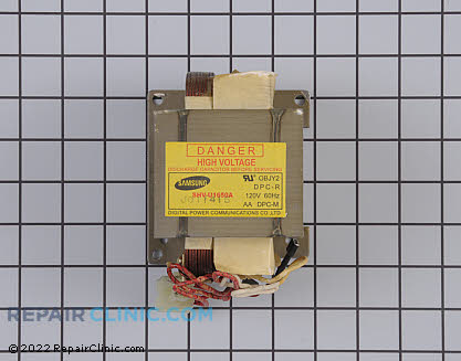 Frigidaire Microwave High Voltage Transformer
