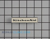 Nameplate - Part # 1202439 Mfg Part # W10021880