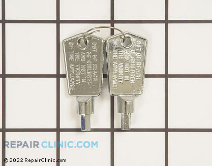 Door Key (OEM)  RF-3898-01