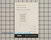 Owner's Manual - Part # 1225073 Mfg Part # RF-9999-248