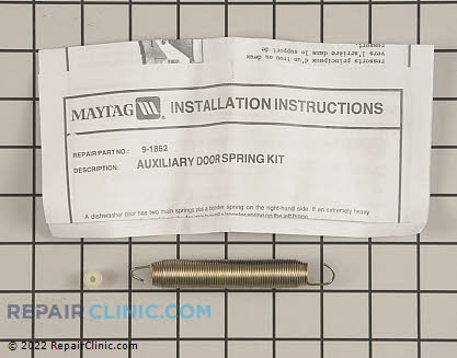 GE Refrigerator Dispenser Door Spring