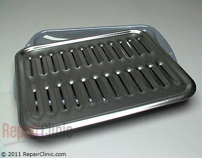 Broiler Pan (OEM)  WB48X10056 - $16.90