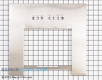Dispenser Front Panel (OEM)  241533207