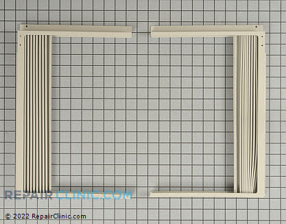 Air Conditioner Window Side Curtain and Frames