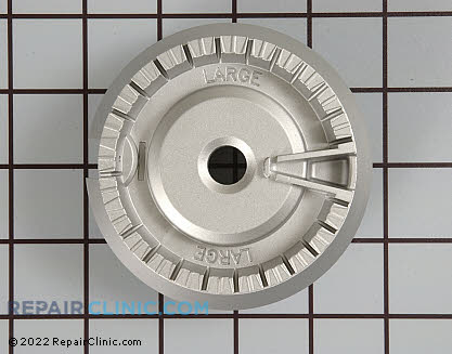 Surface Burner Base (OEM)  WB16T10046, 1262625