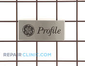 Nameplate - Part # 1265634 Mfg Part # WR04X10161