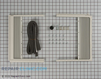 Kenmore Air Conditioner Window Side Curtain