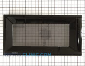 Microwave Oven Door - Part # 1311808 Mfg Part # 3581W1A388B