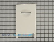Microwave Oven Door - Part # 1314386 Mfg Part # 3720W0D309C