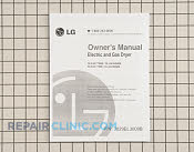 Owner's Manual - Part # 1317719 Mfg Part # 3829EL3009B
