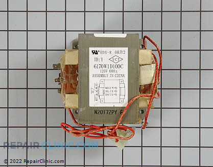 Amana Microwave High Voltage Transformer
