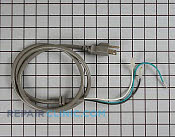 Power Cord - Part # 1352470 Mfg Part # 6411W1A010R