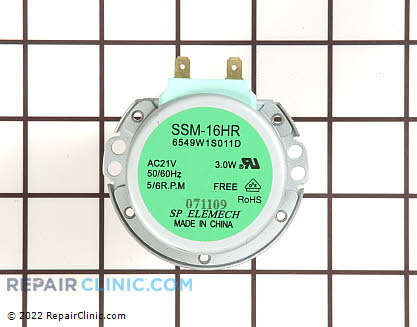 Turntable Motor 6549W1S011E     Main Product View