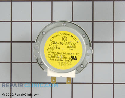 Turntable Motor (OEM)  6549W1S017A