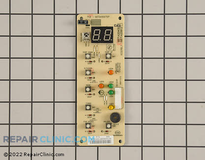 LG Power Control Board with Display