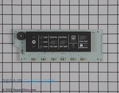 Lg Refrigerator User Control and Display Board