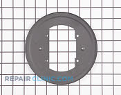Burner Drip Pan - Part # 1379973 Mfg Part # 316515100