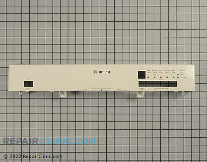 Bosch Dishwasher Control Panel