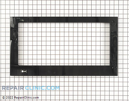 Microwave Oven Door (OEM)  AGM55833802