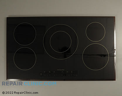 Glass Cooktop (OEM)  W10122346, 1448577
