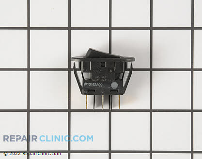 Rocker Switch (OEM)  W10163899 - $26.75