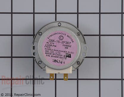 Turntable Motor (OEM)  W10159107