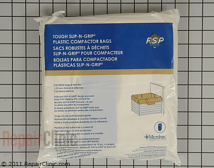 Trash Compactor Bags (OEM)  W10165295BU