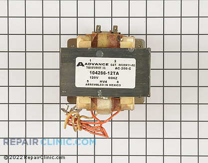 High Voltage Transformer 59004040        Main Product View