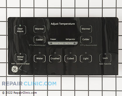 Dispenser Control Board (OEM)  WR55X10859 - $101.76