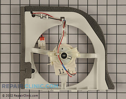 Ge Refrigerator Fan Motor Assembly