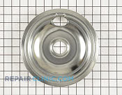8 Inch Burner Drip Bowl - Part # 1481881 Mfg Part # W10196405