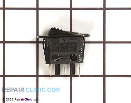 Rocker Switch (OEM)  W10163902 - $21.45
