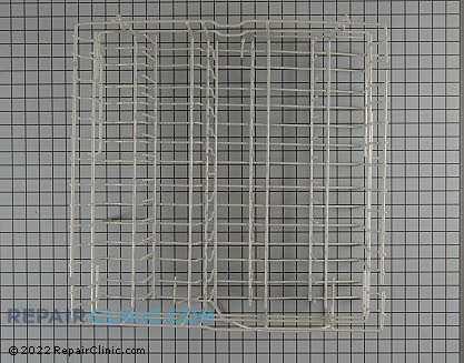 Whirlpool Dishwasher Upper Dishrack Assembly
