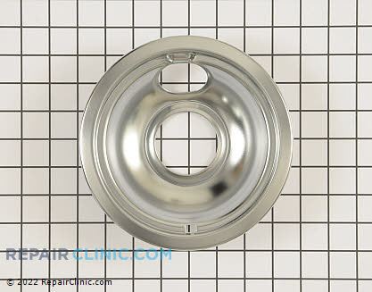 6 Inch Burner Drip Bowl (OEM)  W10196406RW