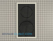 Glass Cooktop - Part # 1543801 Mfg Part # 5705M141-60