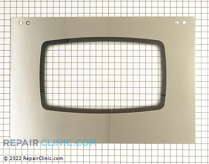 Outer Door Glass (OEM)  W10194891, 1547128