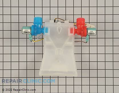 Water Inlet Valve W10140918 Main Product View