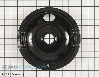 8 Inch Burner Drip Bowl (OEM)  W10290350
