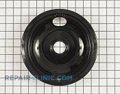 8 Inch Burner Drip Bowl - Part # 1557767 Mfg Part # W10290350