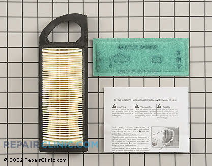Briggs & Stratton Pleated Air Filter