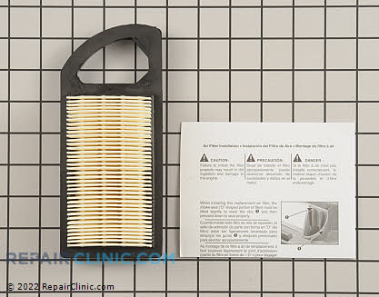 Air Filter, Briggs & Stratton Genuine OEM  797007