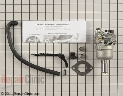 Carburetor, Briggs & Stratton Genuine OEM  794572
