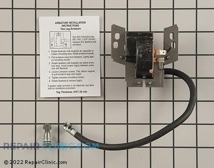 Ignition Coil, Briggs & Stratton Genuine OEM  802574