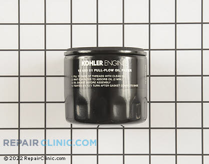 Oil Filter, Kohler Engines Genuine OEM  12 050 01-S1, 1602556
