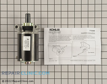 Starter Motor, Kohler Engines Genuine OEM  12 098 22-S