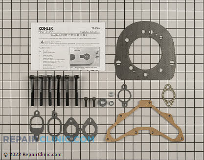 Cylinder Head Gasket Kit, Kohler Engines Genuine OEM  20 841 01-S